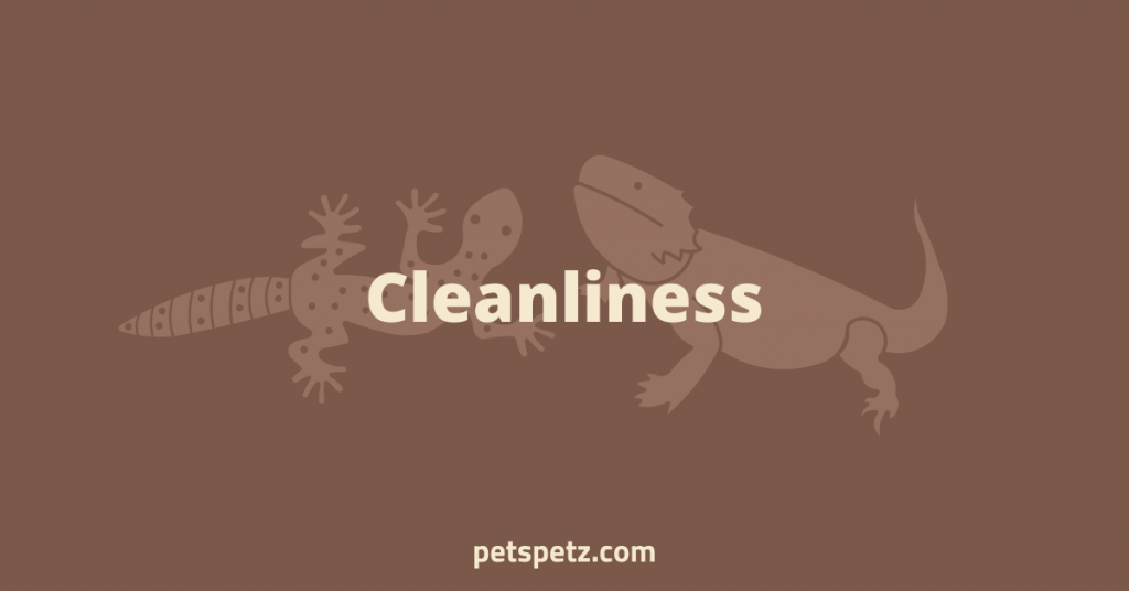 Cleanliness difference