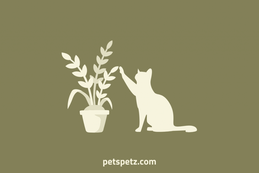 keeping cats out of plants
